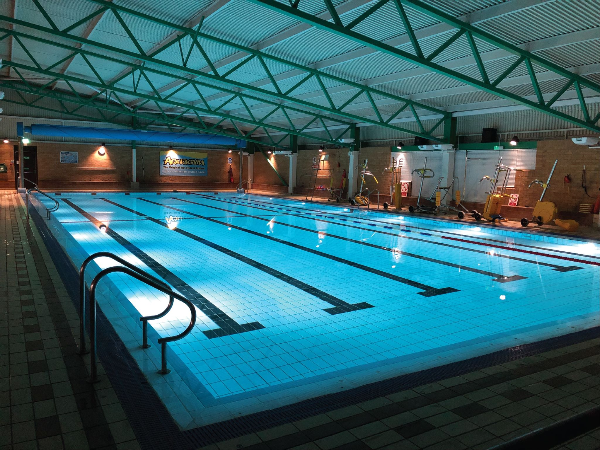Cowdenbeath Leisure Centre swimming pool