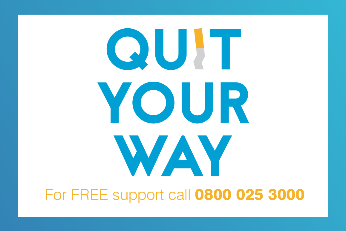 Quit your way logo
