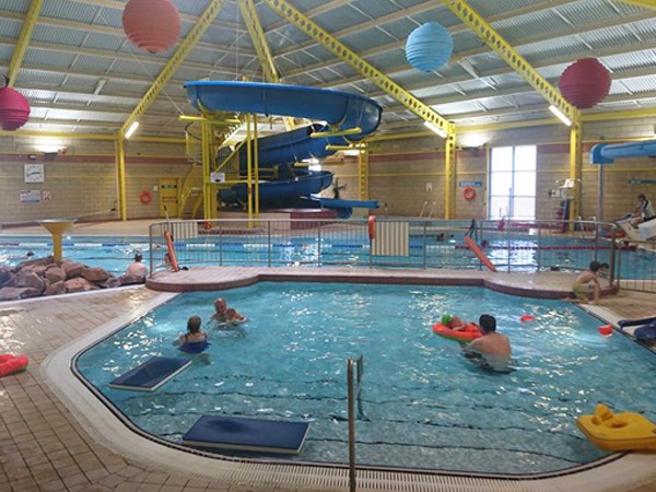 East Sands Leisure Centre swimming pool