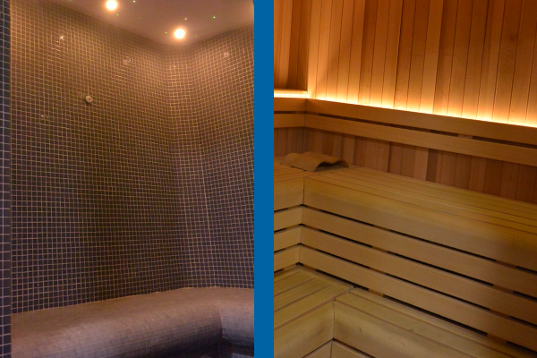 Bowhill Health Suite, Sauna, Steam Room