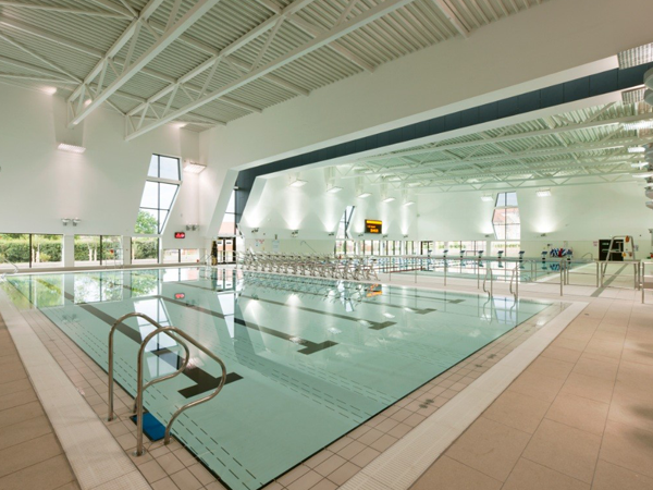 Michael Woods Sports and Leisure Centre swimming pools