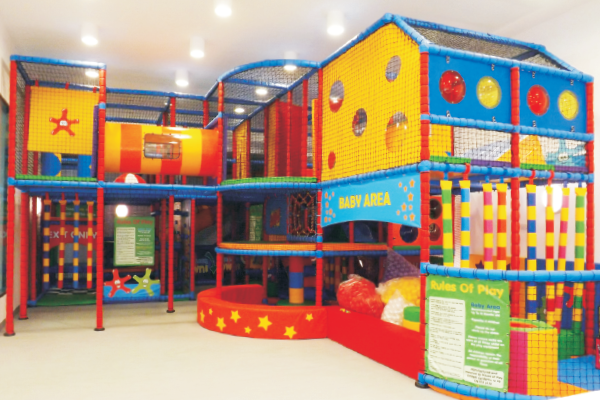 Archie's Activity Zone, Soft Play, ball pit