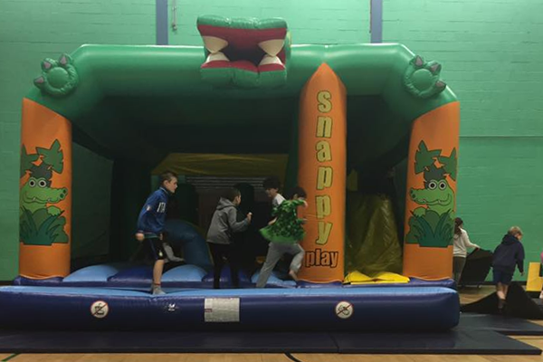 Bouncy Castle Sports Hall Party Carnegie Dunfermline