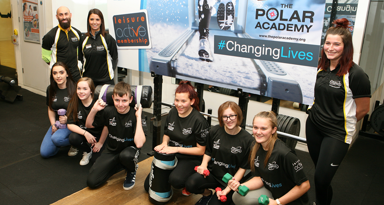 Life-changing journey for Lochgelly High School pupils